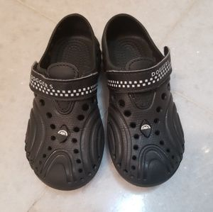 NEW kids Black water/beach shoes size toddler 9/10